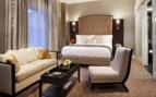 Suite bedroom at Rosewood Hotel Georgia