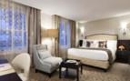 Superior Room at Rosewood Hotel Georgia, luxury hotel in British Columbia, Canada
