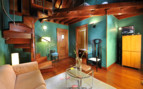 Livingroom at San Roque, luxury hotel in Spain
