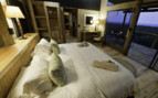 Luxury bedroom at Rocktail Beach Camp