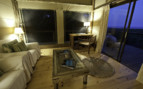 The Living room area at Rocktail Beach Camp