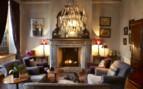 Living room at Hawksmoor hotel, luxury hotel in South Africa