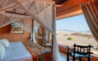 Luxury bedroom at Okahirongo Elephant Lodge