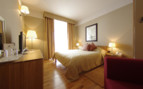 The superior bedroom at Hotel Indijan, luxury hotel in Croatia