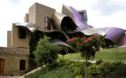 Exterior design at Hotel Marques de Riscal