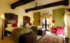 Suite with twin beds at Mihir Garh hotel