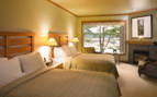 Deluxe bedroom at Wickaninnish Inn