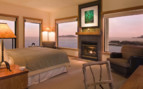 Premier Room at Wickaninnish Inn, luxury hotel in British Columbia, Canada