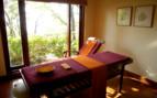 Spa room at Ananda Himalaya, luxury hotel in India