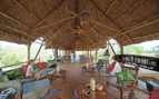 The lodge interior at Impala Camp, luxury hotel in Tanzania