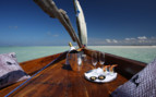 Picture of drinks on the boat at Coral Lodge, Mozambique