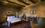 Bedroom at Samara, luxury hotel in South Africa