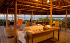 Picture of the beach bar at Nuarro Luxury Eco Lodge