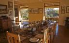The breakfast lounge at Three Trees at Spioenkop