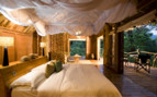 Luxury suite at Lake Manyara Tree Lodge