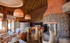 The lounge sitting area at Tswalu