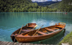 Lake Bled boats