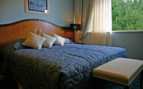 Bedroom at Hotel More, luxury hotel in Croatia