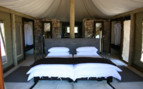 Bedroom at Onguma, luxury camp in Namibia