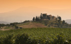 Hills in the Tuscan countryside