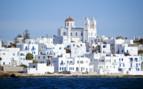 A White Seaside Greek Town