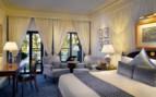 A Blue and Grey Room at Al Bustan