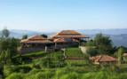 An Aerial Image of Virunga Lodge