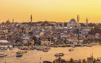 Sunset over Istanbul