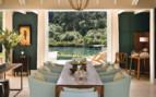 Dining Room of Alan Pye Cottage at Huka Lodge