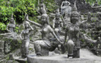 Statues in the Magic Garden