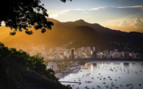 Rio Sunset over the City