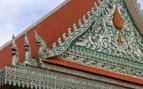 Green and Orange of Phnom Penh Palace