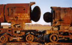 Train Graveyard - Salar de Uyuni