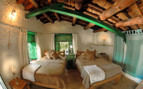 Twin bedroom at Kumaon Village Houses