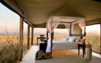 Luxury bedroom at Wolwedans Dunes Lodge