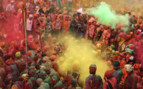 Holi Festival in the streets