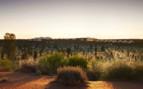 Ayers Rock in Uluru Desert