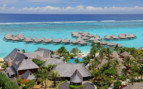 Overview of the Hilton Moorea Lagoon Resort and Spa