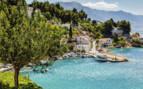 Scenery of the Dalmatian coast