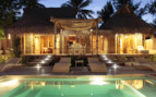 Beach Villa with pool at Tikehau Resort