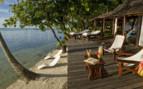 Vahine Island beach suite decking
