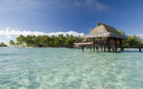 Over water bungalow exterior
