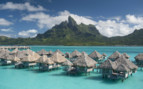 Mount Otemanu and St Regis Bora Bora