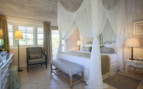 Luxurious guestroom, Mustique