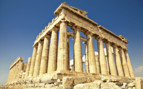 Athens temple ruins
