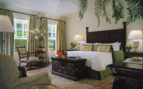 Bedroom at Four Seasons Santa Barbara, luxury hotel in Big Sur