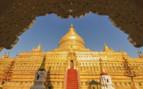 Shwezigon pagoda in Burma