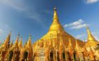 Shewdagon pagoda in Yangon