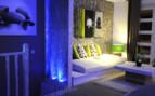 Garden villa lounge