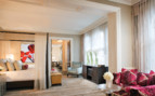 Large suite at Four Seasons beverly Wilshire hotel